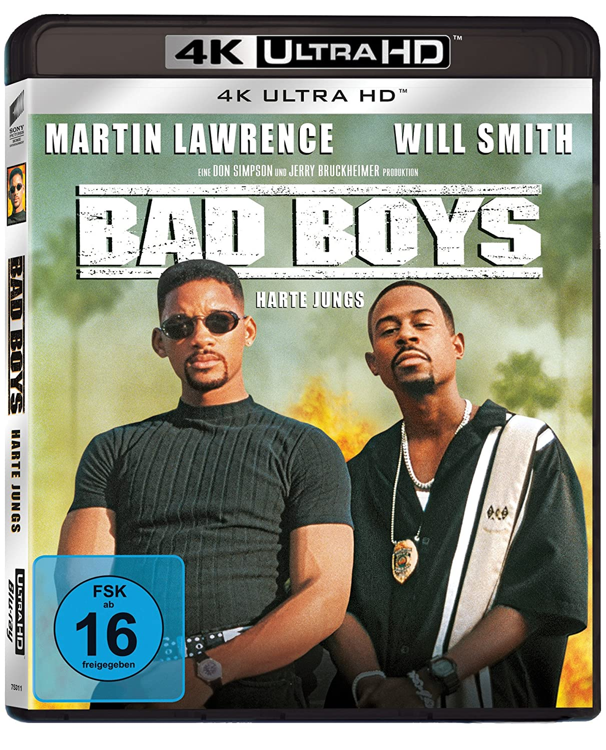 Bad Boys - Harte Jungs - Ultra HD Blu-ray [4K + Blu-ray Disc]