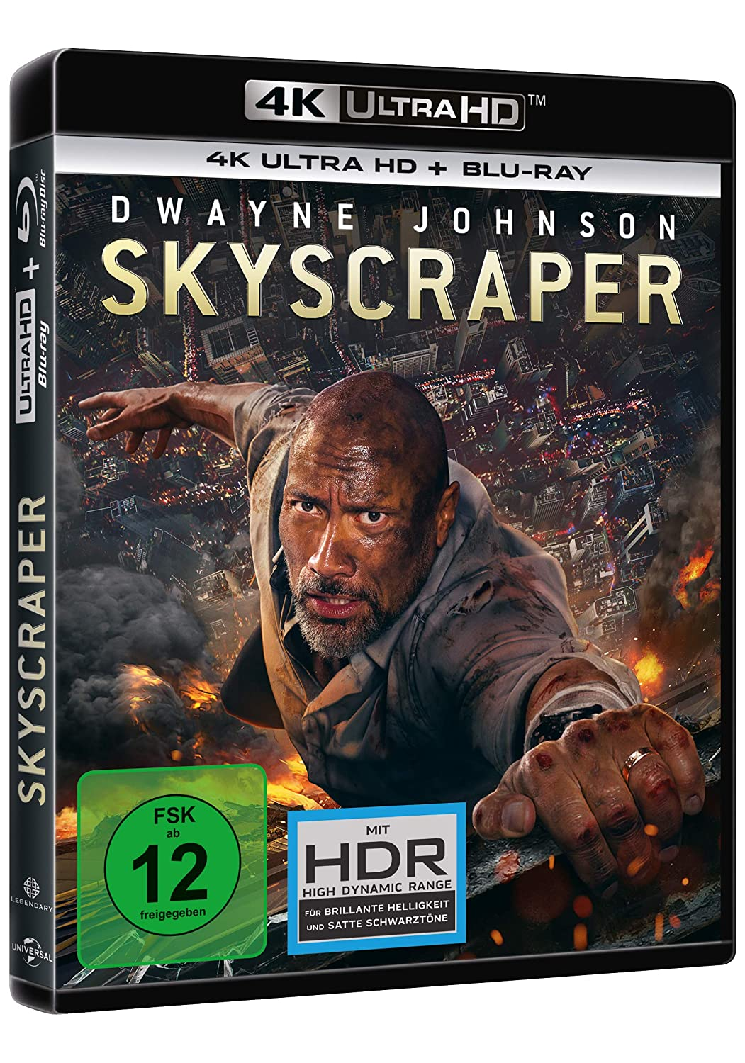 Skyscraper - 4K Ultra HD [UHD + Blu-ray Disc]