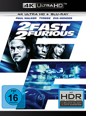 2 Fast 2 Furious - Ultra HD Blu-ray [4k + Blu-ray Disc]