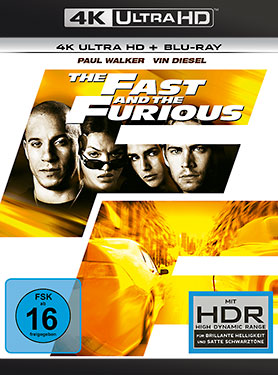 The Fast and the Furious - Ultra HD Blu-ray [4k + Blu-ray Disc]