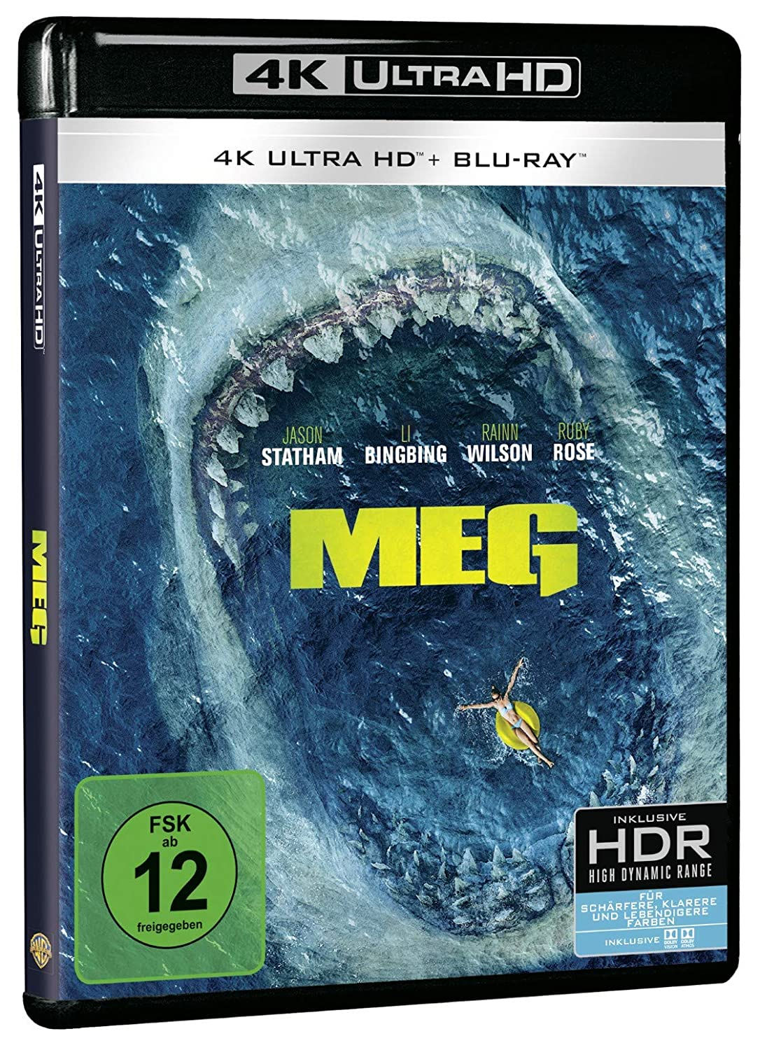 MEG - Ultra HD Blu-ray [4k + Blu-ray Disc]