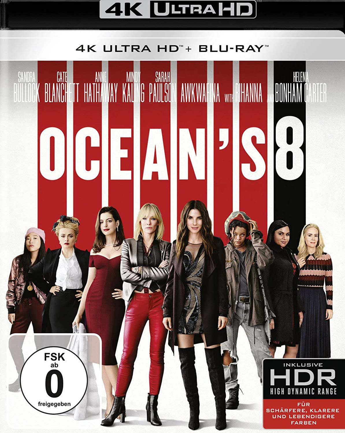 Ocean's 8 - Ultra HD Blu-ray [4k + Blu-ray Disc]