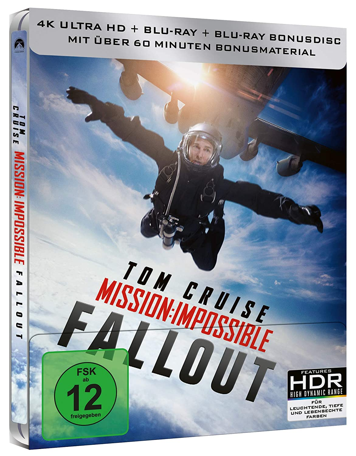 Mission: Impossible 6 - Fallout - 4K Steelbook (UHD + Blu-ray Disc)