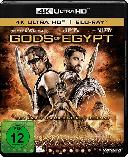 Gods Of Egypt - 4K Ultra HD [UHD + Blu-ray Disc]