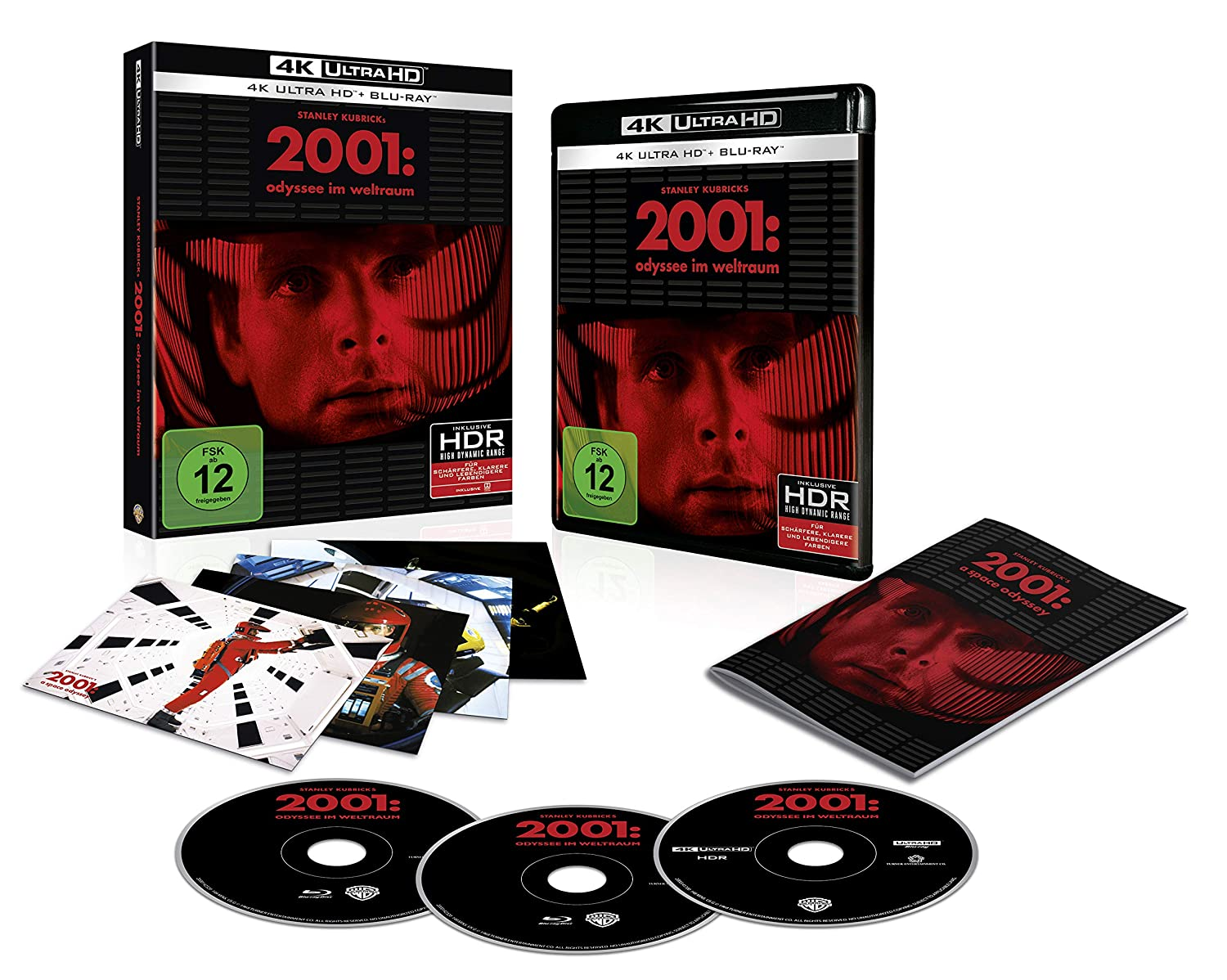 2001: Odyssee im Weltraum (Limited Edition) - 4K Ultra HD [UHD + Blu-ray Disc]