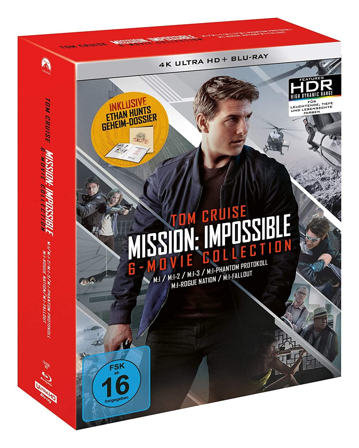 Mission: Impossible The 6 Movie Collection (Limited Boxset) - 4K Blu-ray (UHD + Blu-ray Disc)