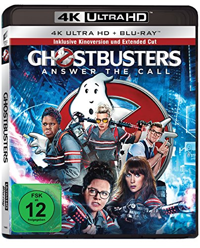 Ghostbusters - Extended Cut - 4K Ultra HD [UHD + Blu-ray Disc]
