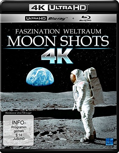 Moon Shots - Faszination Weltraum - 4K Ultra HD [UHD + Blu-ray Disc]