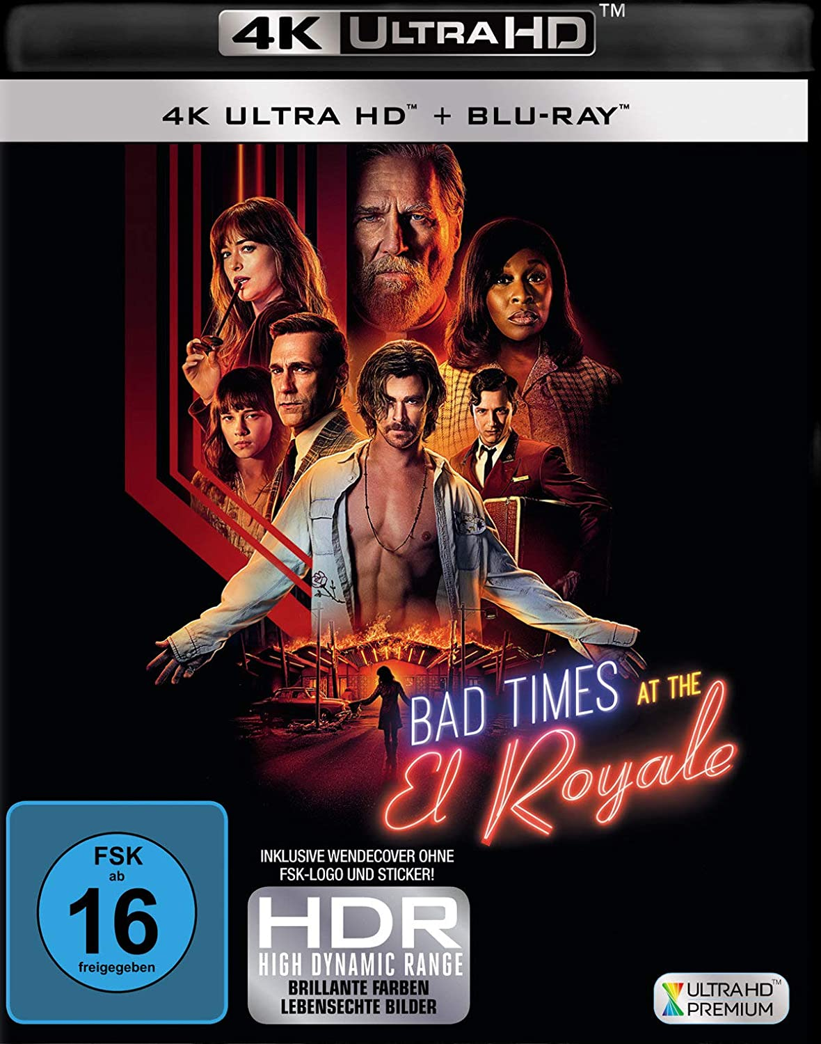 Bad Times at the El Royale - Ultra HD Blu-ray [4k + Blu-ray Disc]
