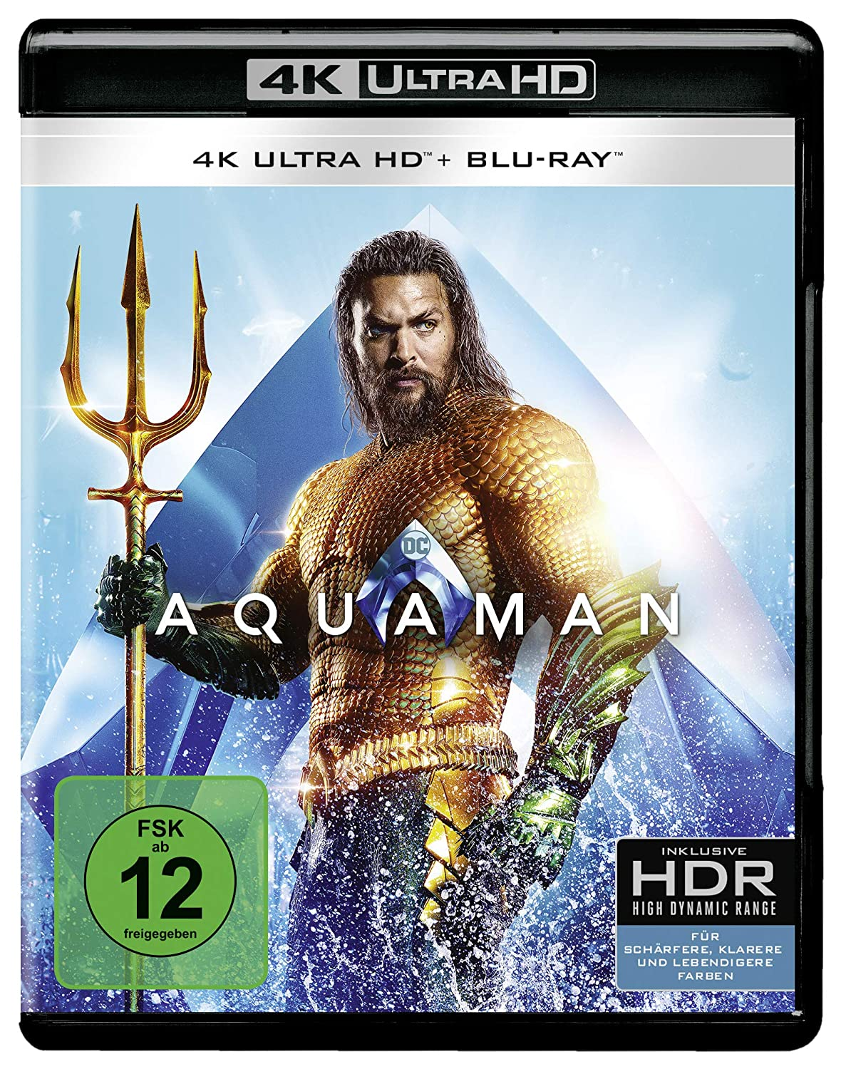 Aquaman - Ultra HD Blu-ray [4k + Blu-ray Disc]