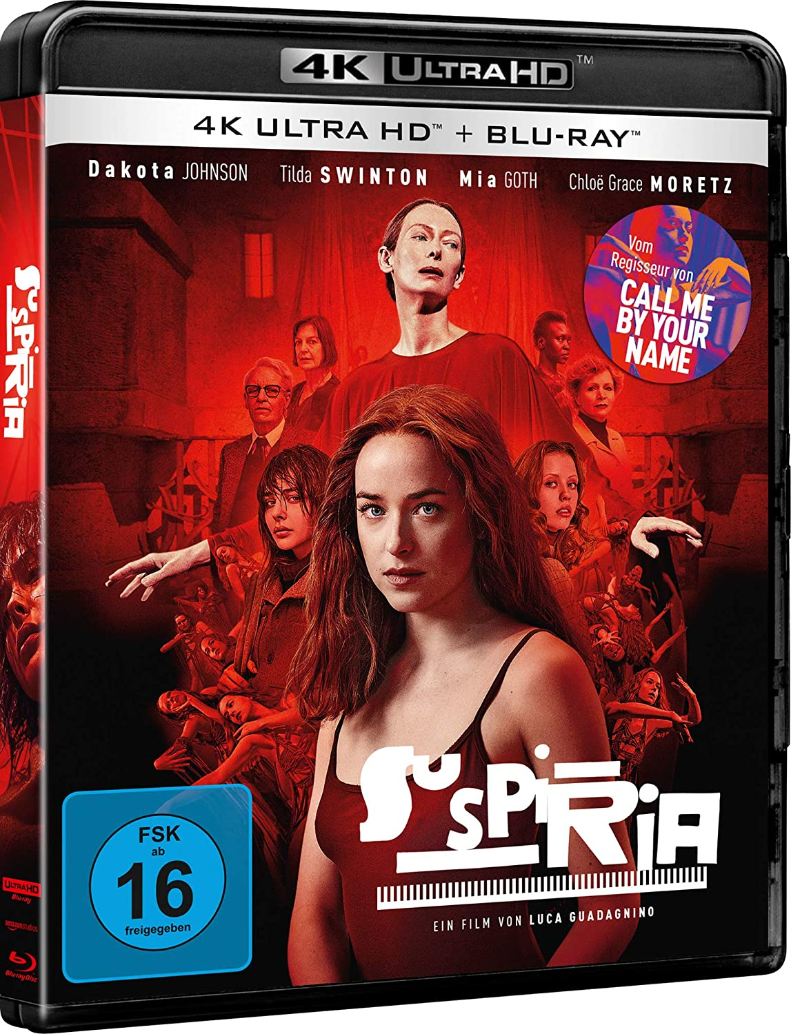 Suspiria - Ultra HD Blu-ray [4k + Blu-ray Disc]