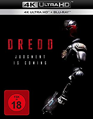 Dredd - Ultra HD Blu-ray [4k + Blu-ray Disc]