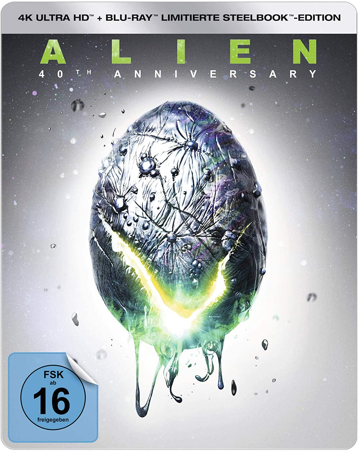 Alien (Steelbook) - 4K Ultra HD [UHD + Blu-ray Disc]