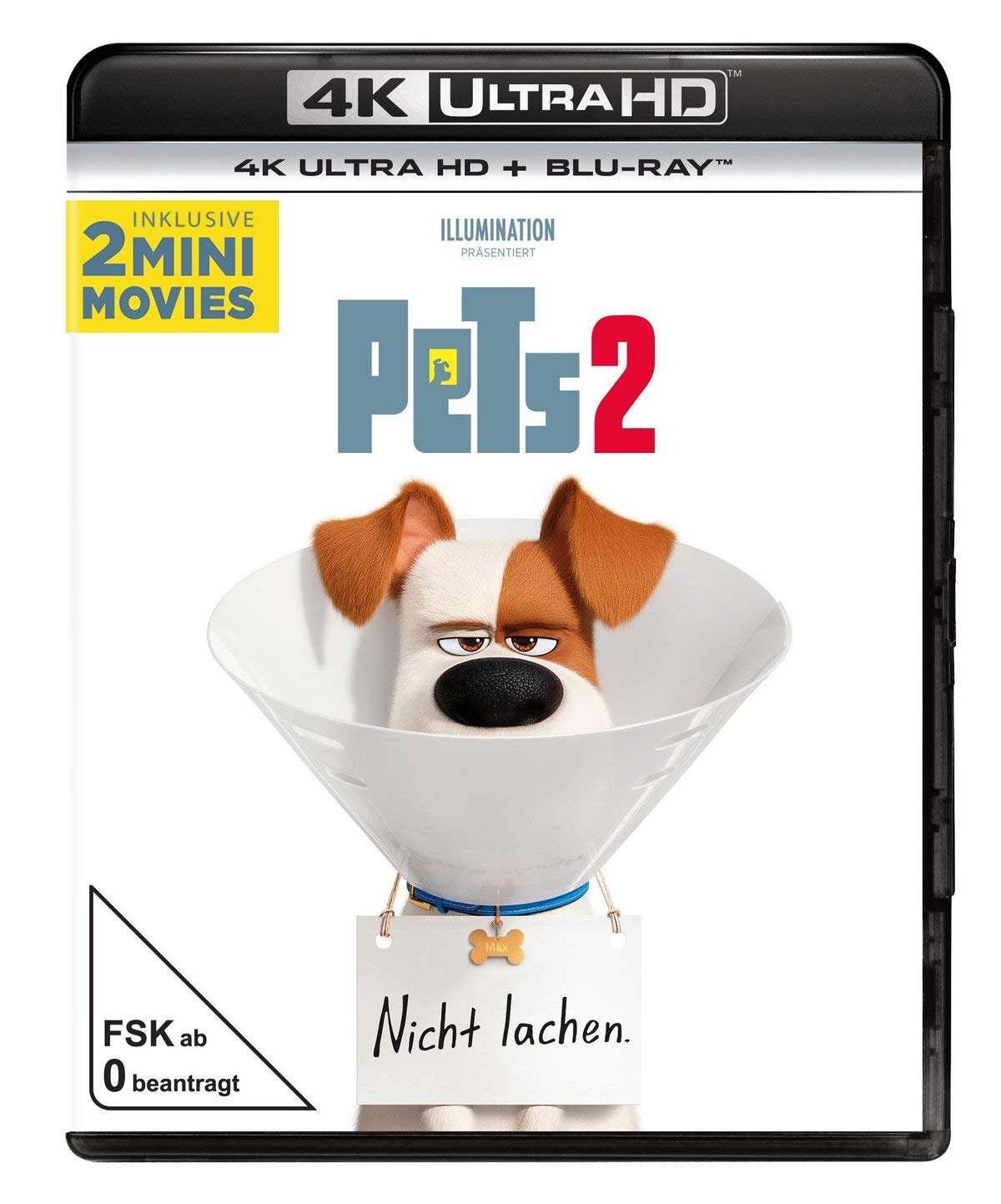Pets 2 - Ultra HD Blu-ray [4k + Blu-ray Disc]