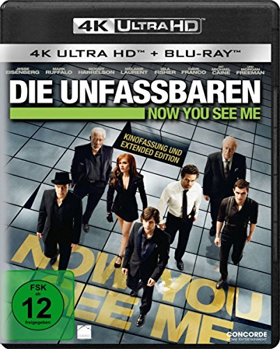 Die Unfassbaren - Now you see me - 4K Ultra HD [UHD + Blu-ray Disc]