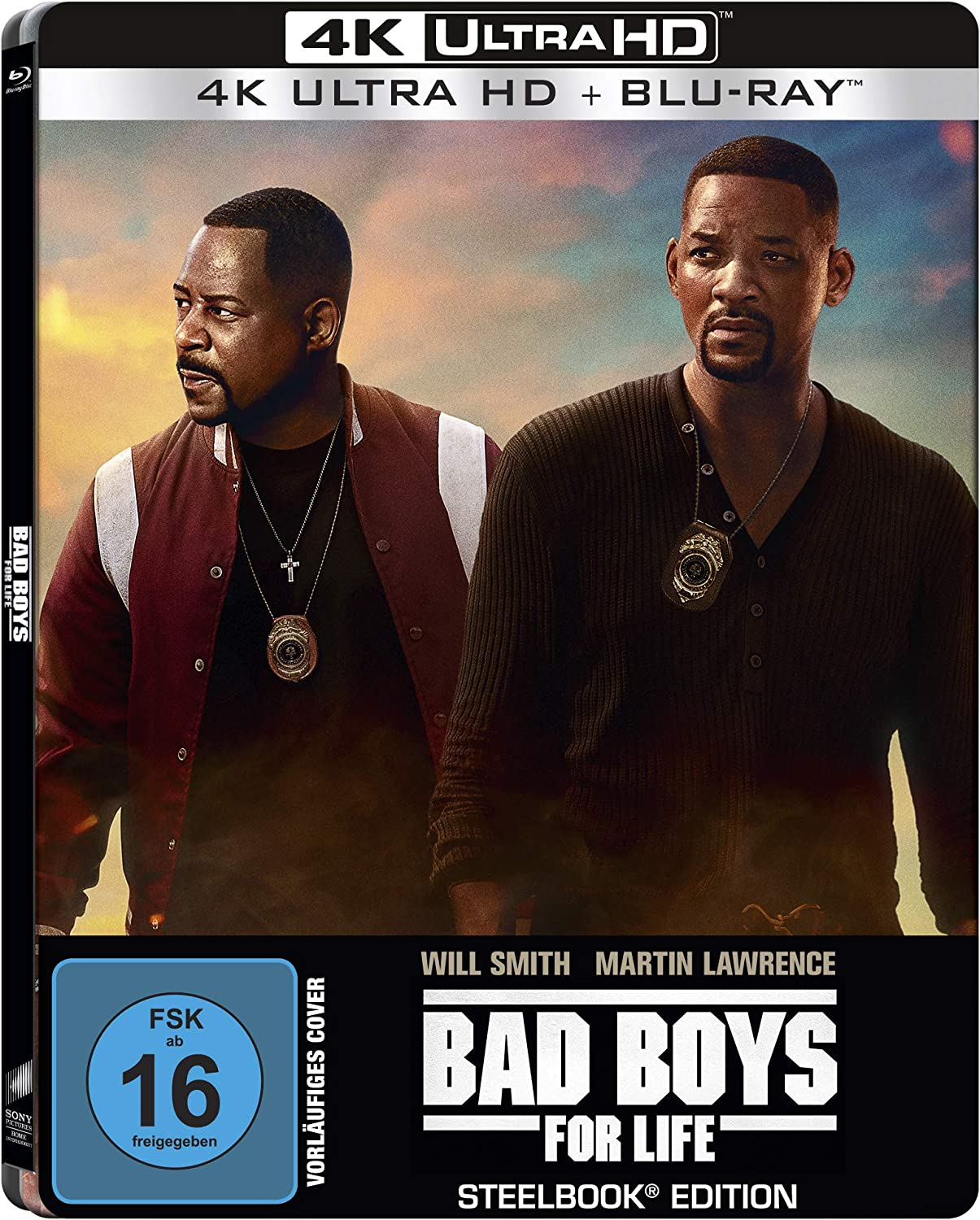 Bad Boys for Life (Steelbook) - 4k Ultra HD [UHD + Blu-ray Disc]