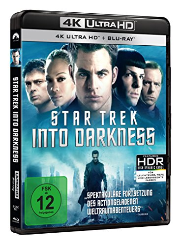 Star Trek 12: Into Darkness – Ultra HD Blu-ray [4k + Blu-ray Disc] - 2