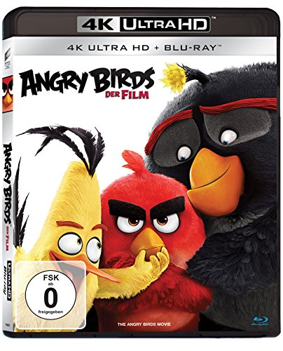 Angry Birds: Der Film - Ultra HD Blu-ray [4k + Blu-ray Disc]