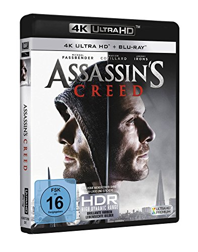 Assassin's Creed – Ultra HD Blu-ray [4k + Blu-ray Disc] - 2