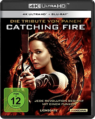 Die Tribute von Panem: Catching Fire - 4K Ultra HD [UHD + Blu-ray Disc]