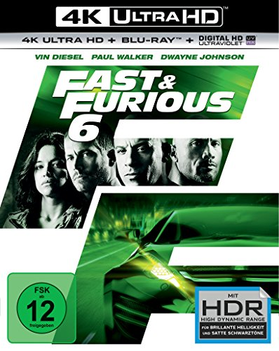 Fast & Furious 6 - Extended Version - 4K Ultra HD [UHD + Blu-ray Disc]