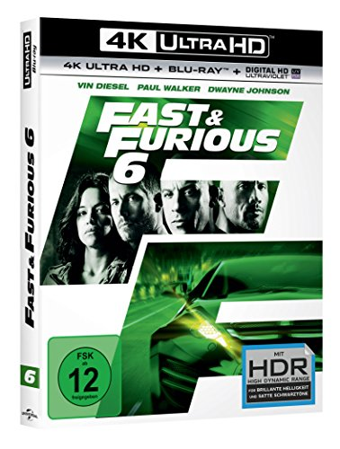 Fast & Furious 6 – Extended Version – Ultra HD Blu-ray [4k + Blu-ray Disc] - 2