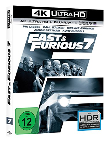 Fast & Furious 7 – Extended Version – Ultra HD Blu-ray [4k + Blu-ray Disc] - 2
