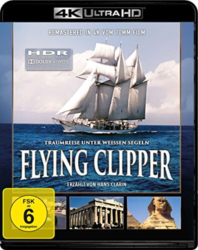 Flying Clipper: Traumreise unter weissen Segeln - 4K Ultra HD [UHD + Blu-ray Disc]
