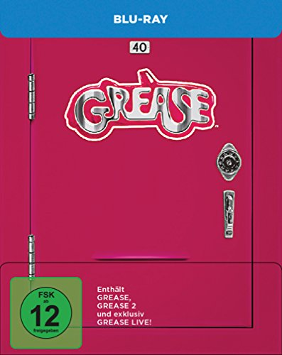 Grease + Grease 2 + Grease Live! - Remastered [Blu-ray] [Limited Edition]