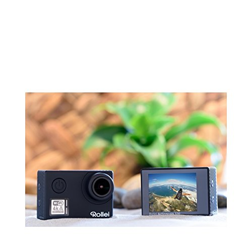 Rollei Actioncam 530 WiFi Action Cam (mit 4k Video Auflösung,...
