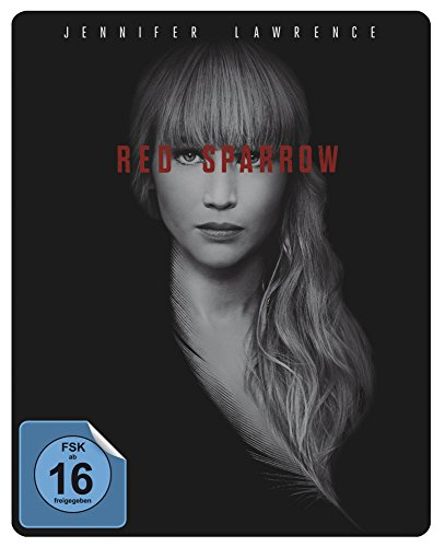 Red Sparrow Steelbook Blu-ray [Limited Edition]
