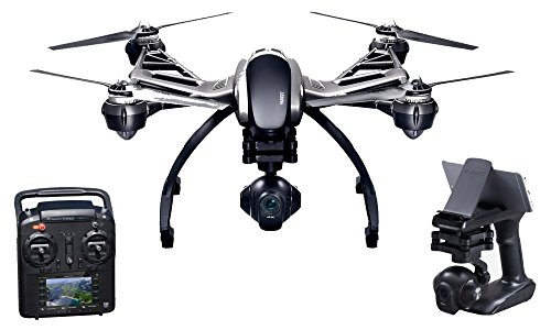 Yuneec Typhoon Q500 4K Multikopter (Set inkl. Aluminiumkoffer, SteadyGrip, 2...