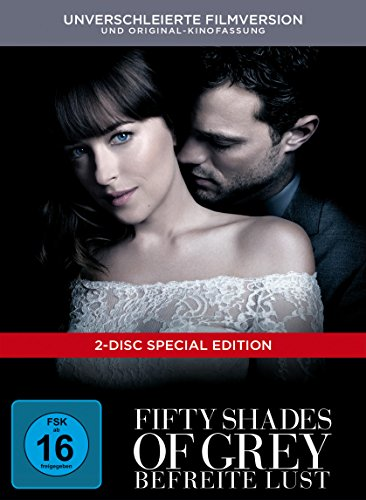 Fifty Shades of Grey – Befreite Lust Limited Digibook [2 DVDs]