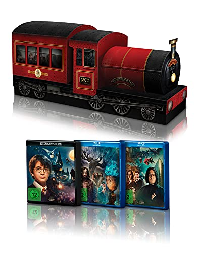 Harry Potter: The Complete Collection - Limited Edition 'HOGWARTS EXPRESS' (4K...