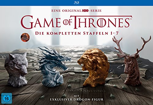 Game of Thrones: Die kompletten Staffeln 1-7 als Ultimate Collector's Edition...