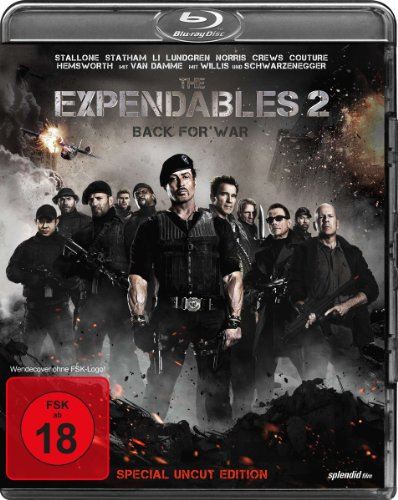 The Expendables 2 - Back for War (Special Uncut Edition) [Blu-ray] [Special...
