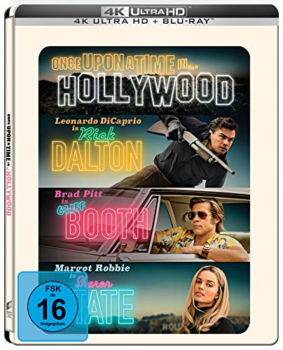 Once Upon A Time In… Hollywood (Limited UHD/BD Steelbook) Amazon Exklusiv...