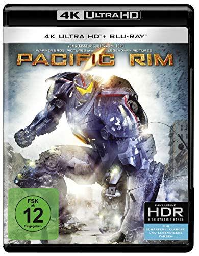Pacific Rim (4K Ultra HD + 2D-Blu-ray) (2-Disc Version) [Blu-ray]