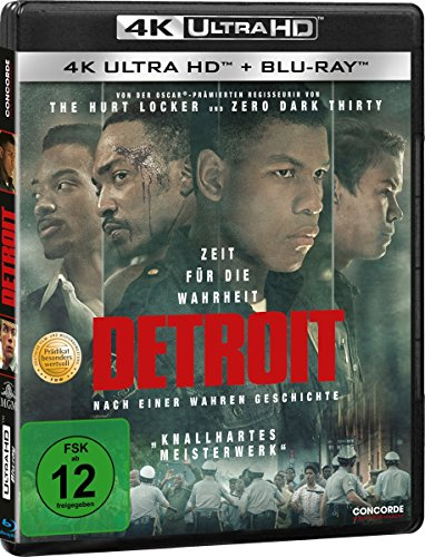 Detroit (4K Ultra HD) (+ Blu-ray 2D)