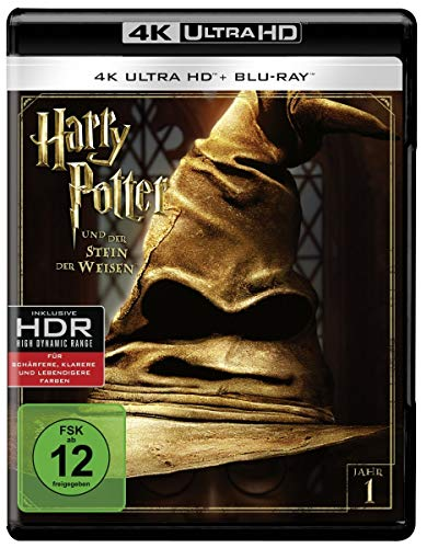 Harry Potter und der Stein der Weisen (4K Ultra HD + 2D-Blu-ray) (2-Disc...
