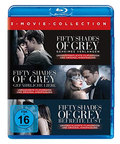 Fifty Shades of Grey - 3-Movie Collection [Blu-ray]