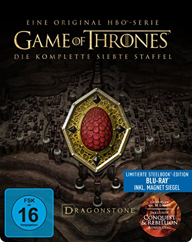 Game of Thrones: Die komplette 7. Staffel als Steelbook (Limited Edition)...