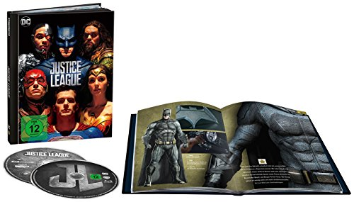 Justice League als Digibook (Limited Edition) (4K Ultra HD + 2D Blu-ray)...