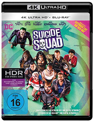 Suicide Squad inkl. Blu-ray Extended Cut (4K Ultra HD + 2D-Blu-ray) (2-Disc...