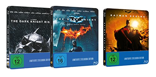 The Dark Knight Trilogie - Steelbook Edition