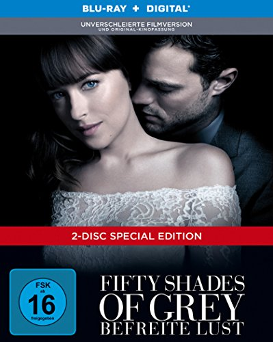 Fifty Shades of Grey – Befreite Lust Limited Digibook [Blu-ray]