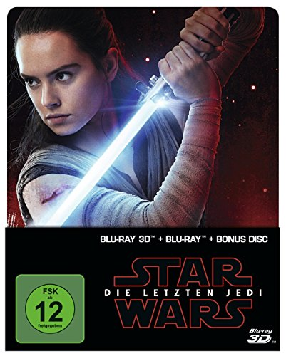 Star Wars: Die letzten Jedi (2D & 3D Steelbook Edition) [3D Blu-ray]m[Limited...