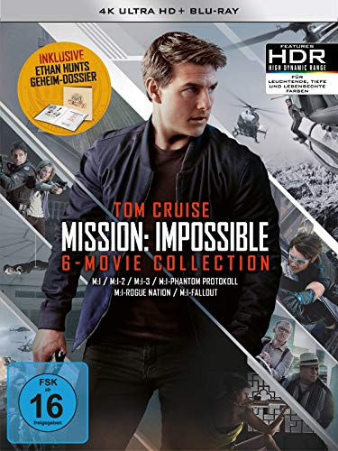 Mission: Impossible The 6 Movie Collection - Limited Boxset 4K UHD [Blu-ray]...
