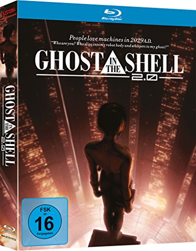 Ghost in the Shell - The Movie 2.0 - [Blu-ray] Mediabook