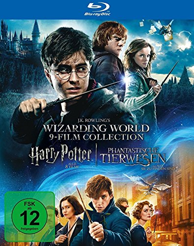 Wizarding World 9-Film Collection: Alle Harry Potter Filme und Phantastische...